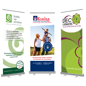 roll up banner ontwerp
